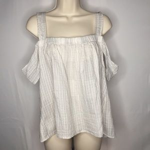 NWT Lou and Grey Tank Top Cold Shoulders MSRP $59